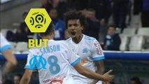 But Luiz GUSTAVO (43ème) / Olympique de Marseille - SM Caen - (5-0) - (OM-SMC) / 2017-18