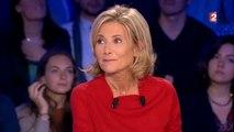 """Chez Ruquier, Claire Chazal se fait chambrer par Yann Moix : """"Elle aime personne mais va dire du bien de tout le monde !"""