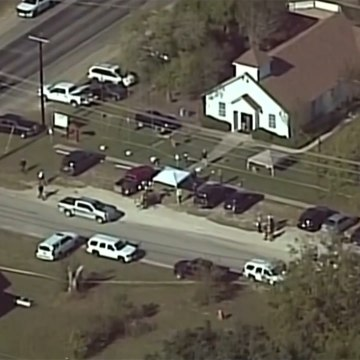 Shooting at Texas church leaves more than 20 dead [Mic Archives]
