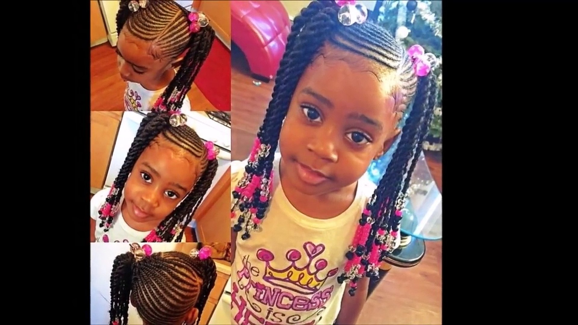 Trending Cornrow Hairstyles 2017 For Black Mixed Little Girls