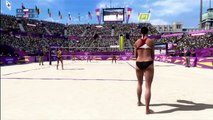 Womens Beach Volleyball   London new:The Olympic Games   XBOX 360   Hard