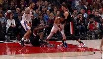 Jusuf Nurkić koškanje sa Westbrookom, zatim Anthony izbačen
