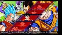 Dragon ball shin budokai 4! Para PPPSSPP Personajes de Dragon ball super