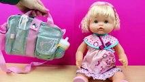 Bolso de mamá NENUCO | La bebé Nenuco se va de paseo con mamá | Juguetes de Nenuco en español