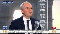 """François de Rugy: """"Une personne condamnée ne pourra pas revenir en politique"""""""