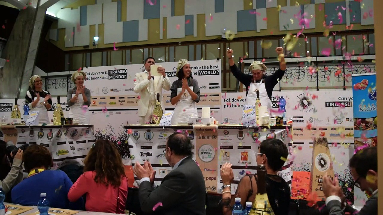 Factory worker wins first Tiramisu World Cup