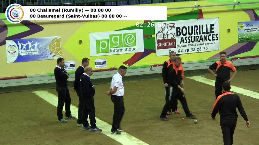 Finale, seconde étape du Trophée Super 16, Lyon 2017