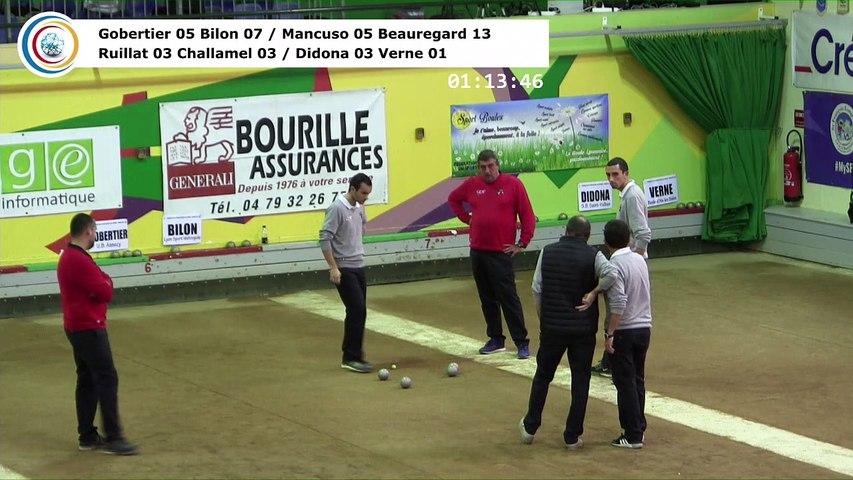 Quarts de finale, seconde étape du Trophée Super 16, Lyon 2017