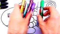 Renkleri Ogreniyorum El Boyama Tirnak Boyama Sayfasi Oyun