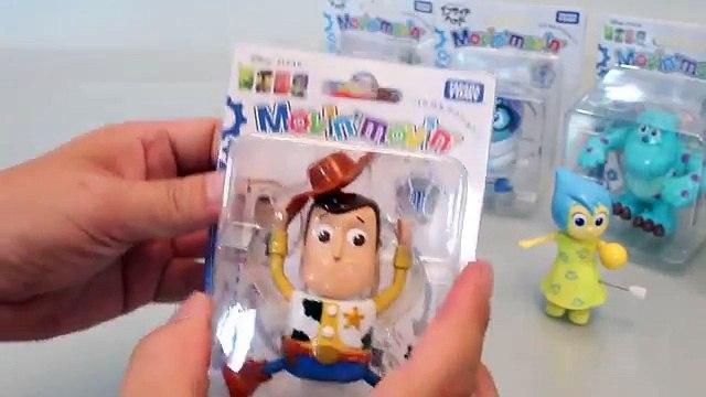 Disney Pixar Inside Out, Toy Story, Cars Tomy Movin Figurines Toys 인사이드아웃등 피규어 와 타요 뽀로로 폴리 장난감