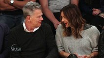Katherine McPhee and David Foster Look Cozy at NBA Game