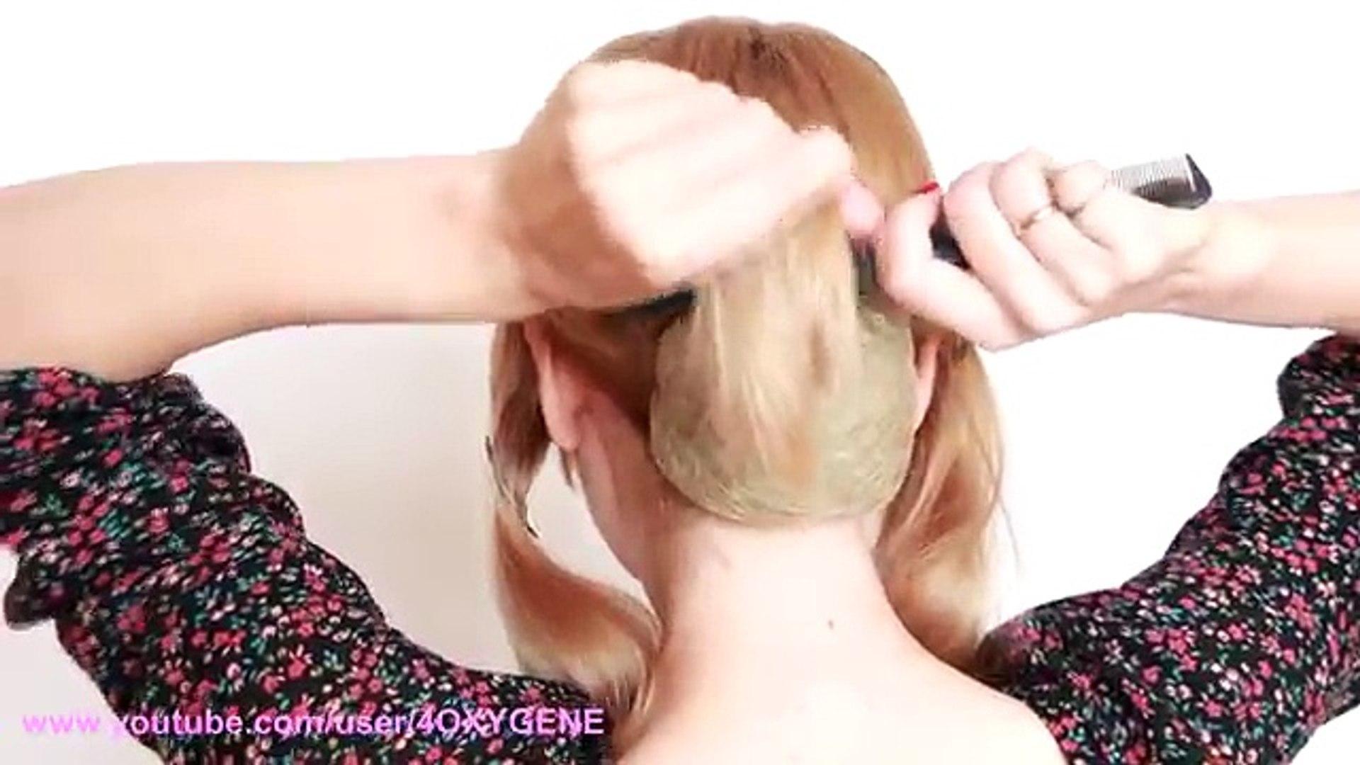 Деловой пучок самой себе. Presentable Hair Bun Herself