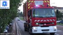 Incendie du 31/07/2017 à Chalon-sur-Saône - Arrivée des secours
