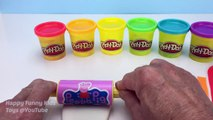 How to Make Play Doh Popsicle or Ice Lolly in Rainbow Colours Fun & Creative for Kids and Children