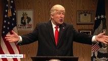 Alec Baldwin Says Melania Trump Loves His Impression Of Her Husband