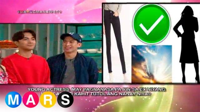 Mars Mashadow: Young actress, may   pagnanasa pa rin sa ex niyang hunk actor?