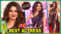 Jennifer Winget WINS The BEST ACTRESS Award In ITA Awards 2017 | Beyhadh | EXCLUSIVE Interview