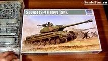 Trumpeter Soviet JS-4 Heavy Tank 1/35 scale model
