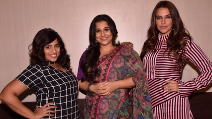 Vidya, Neha, Malishka speak about TUMHARI SULU