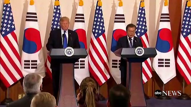 Full Donald Trump and South Korean Pres. Moon Jae-In Hold a Joint News Conference