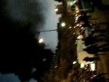 Incendie rue riquet 75019 paris - 16/11/07