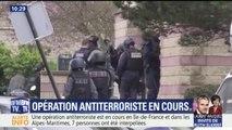 ALERTE INFO - Plusieurs opérations anti-terroristes sont en cours dans le Val-de-Marne et dans les Alpes-Maritimes