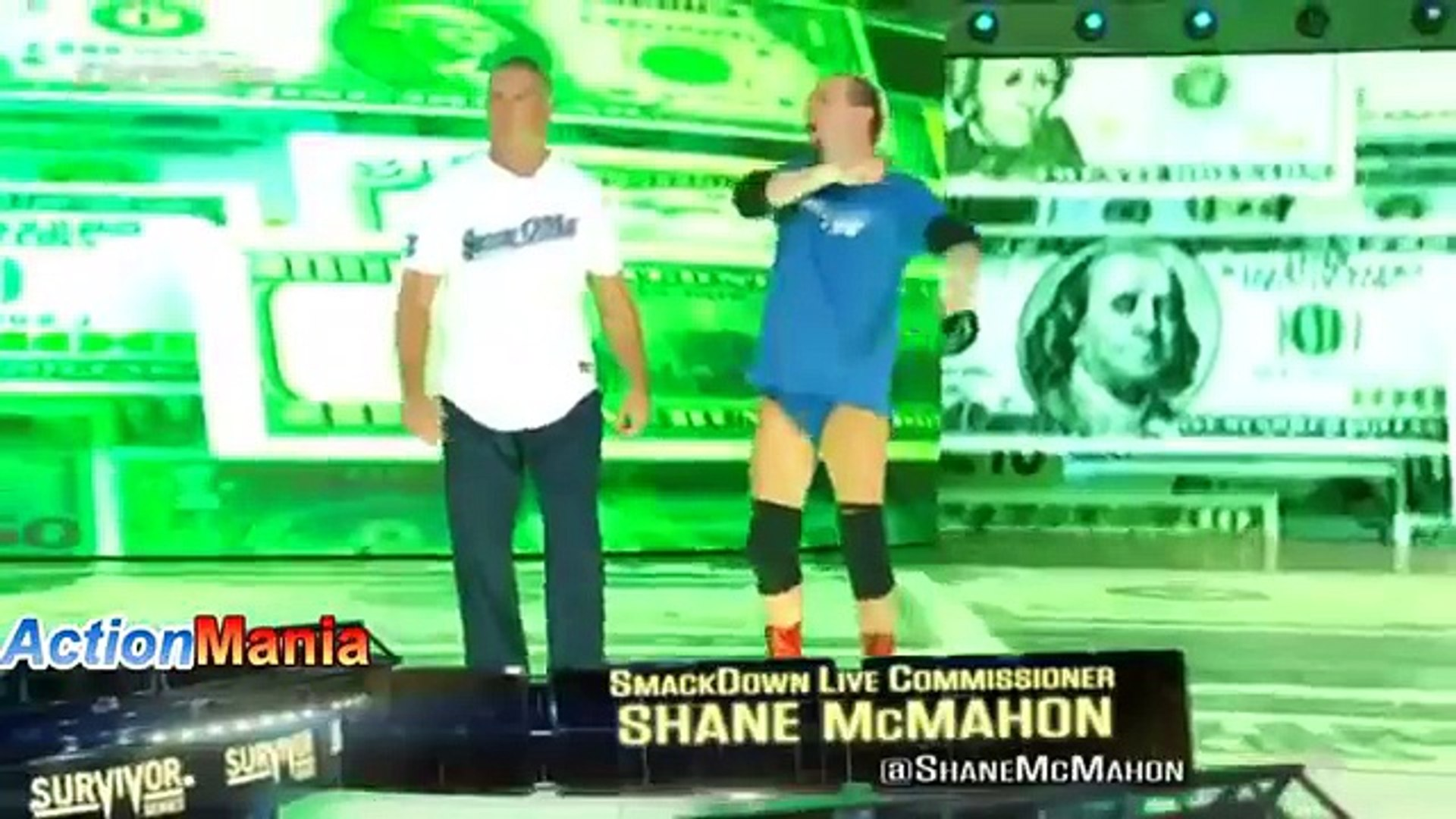 WWE Raw 4 November 2017 - 4-11-2017 - The Shield vs AJ Style at Survivor Series 2017