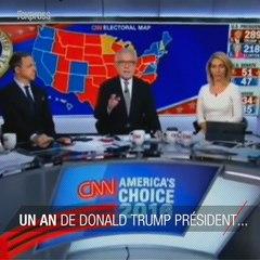 Donald Trump président américain, un an plus tard