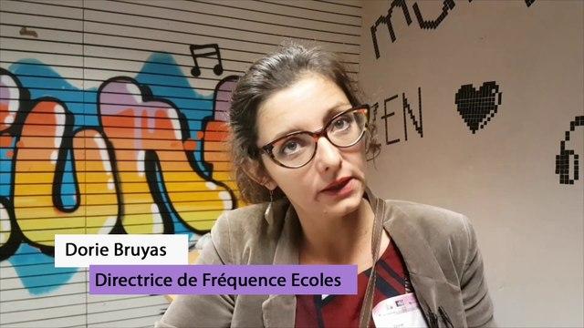 """L'atelier """"Ecrans et Famille"""" de Chambéry, Dories Bruyas"""