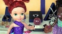 Anna and Elsa Toddlers Crown Jewels Stolen #1 Thief Steals Gems Diamonds Rare Royal Shopkins Dolls
