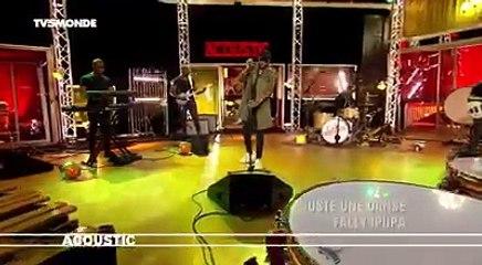 """Fally Ipupa en Acoustique """"Juste une danse"""" sur Tv5 Monde"""