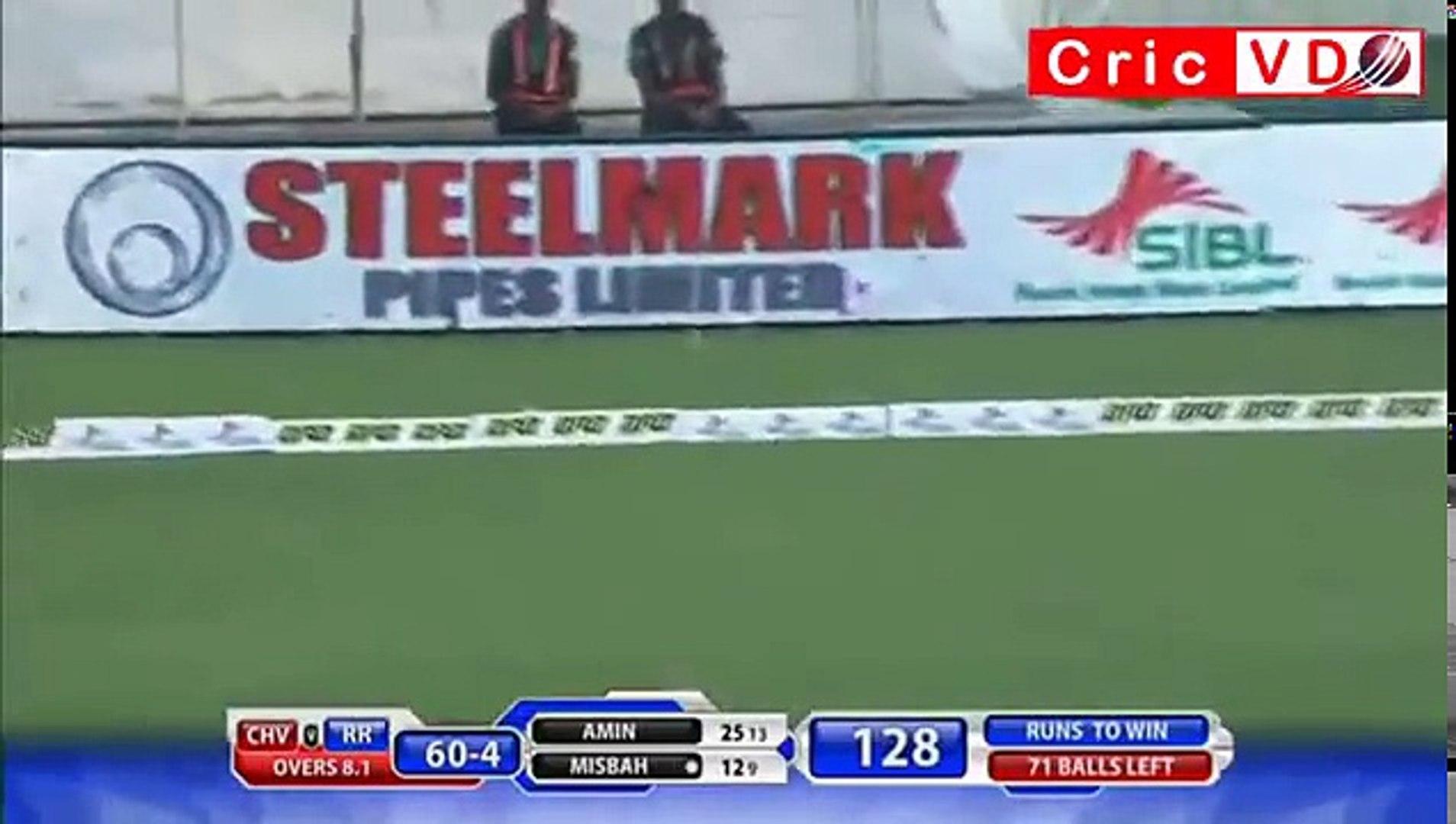 Misbah Ul Haq 61 Runs Of 39 Balls in BPL T20 2015 Rangpur Riders v Chittagong Vikings 1st Match - Yo