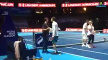Exhibition - Glasgow 2017 - Andy Murray et Roger Federer à The Hydro Club de Glasgow