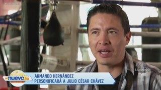 Armando Hernandez es el actor que interpretara a Julio Cesar