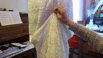Avoid Wedding Gown Alterations Rip Off! Simple DIY Bustle (Tutorial) Series 1