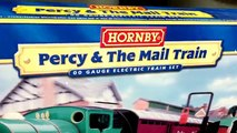 Thomas & Friends Percy & The Mail Train Hornby HO/OO Scale set - working railroad post office car