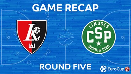 7Days EuroCup Highlights Regular Season, Round 5: Rytas 93-76 Limoges