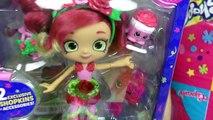 Shopkins GIANT EGG Shoppies Tiara Sparkles, Rosie Bloom Dolls Arcade Cotton Candy Playsets Season 7
