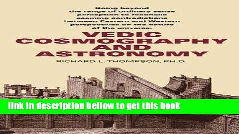 download Vedic Cosmography and Astronomy full pages
