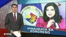 Impeachment complaint vs CJ Sereno, ipinauubaya na ng Palasyo sa Kongreso