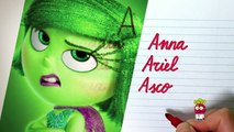 Caligrafia para niños abecedario Disney Abc | Palabras Primaria | Abecedario en Español para Niños