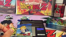 DBZ Card Unboxing Weighed Perfection Booster Box Part 1 Dragon Ball Z TCG CCG Panini