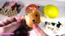 Cutting OPEN Squishy COW! HomemadeSTRESS Ball! Puni Maru Ice Cream CONE! Creamy Cookie! FUN