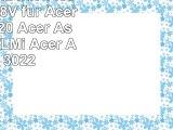 Laptop Akku mit 4400mAh 144148V für Acer Aspire 3020 Acer Aspire 3021WLMi Acer Aspire