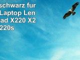 vhbw LiIon Akku 4400mAh 111V schwarz für Notebook Laptop Lenovo ThinkPad X220 X220i
