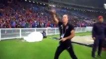 Gran celebración de un técnico portugués tras ganar Liga y Copa en Malasia