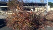 L'ancien Leclerc de Lunesse est en cours de démolition. Visite dans le chantier