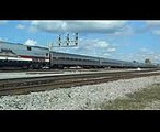 Amtrak 173 Leads Amtrak 19 With The Veterans Unit - 11042017