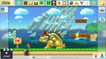 Lets Play EPISODE 5 Super Mario Maker Nintendo Wii U en français FR