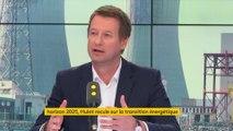 """Yannick Jadot : Nicolas Hulot """"se fait le porte-voix des lobbies"""""""